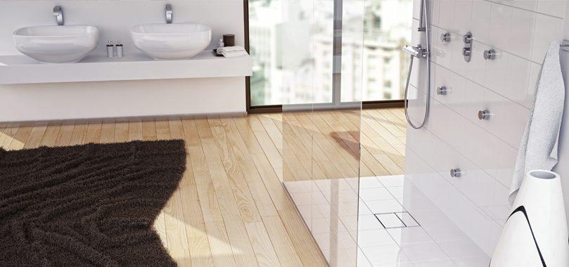 Bodenebene und barrierefreie Badezimmer wünscht sich jeder Immobilienbesitzer